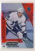 2020-21 Synergy Red #94 Egor Korshkov Toronto Maple Leafs RC BX3
