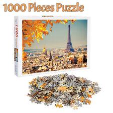 1000 Pieces Jigsaw Puzzles Eiffel Tower Paris Adult Kids Educational Puzzle Toys