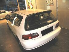 Carbon fiber SP rear wing roof spoiler fit Honda 1992-95 Civic coupe EG6 type-R