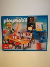 Playmobil 4326 *NEW* - Wood workers in school class room (MISB, NRFB, OVP)