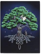 Keeper of Secrets Canvas Wall Art Plaque Lisa Parker Wicca Fantasy Cat