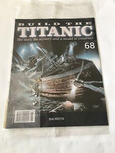 1/250 Hachette Build The Titanic Model Ship Issue 68 Inc Part Pictured.