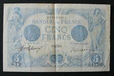 France - Francia - Billet de 5 Francs Bleu du 8 Mai 1916 TTB+ / VF+