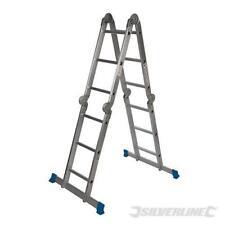 3.6mtr Scaffold Ladder Aluminimum Heavy Duty Multi Purpose Extendable 149 kg Max
