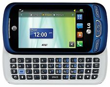 LG Xpression 2 Blue Unlocked C410 Cell Phone Slide-Out QWERTY Keyboard 4G LTE