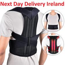 Posture Corrector Adjustable Clavicle Back Support Neck Brace Lumbar Men Women