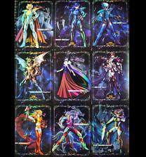 Saint Seiya Gold spirit Play Golden Cards Flash Hagen Thor 30th Anniversary 9pcs
