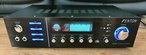 Fenton AV320BT 5 Channel Amplifier with Bluetooth USB & Karaoke Mic Inputs