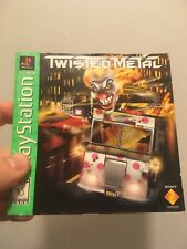 Twisted Metal PS1 Replacement Manual Only No Game Sony PlayStation Greatest Hits