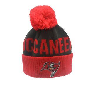 Tampa Bay Buccaneers Official NFL Infant 12-24 Months Pom Knit Winter Hat Cap