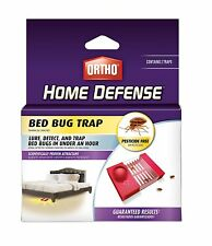 NEW! Ortho Home Defense BED BUG TRAP 2-Traps LURE • DETECT • TRAP Pesticide Free