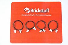 "BRICKSTUFF 6"" EXTENSION CABLES FOR BRICKSTUFF LEGO LIGHTING SYSTEM (4-PACK)"
