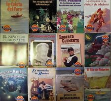 Leveled Readers Library Spanish 6th Grade Level 6 Paperback 12 Books Homeschool