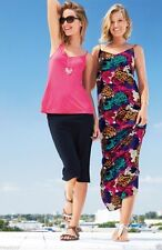BNWT NEXT Multi Floral Strappy Maxi Dress Size 12 RRP £34