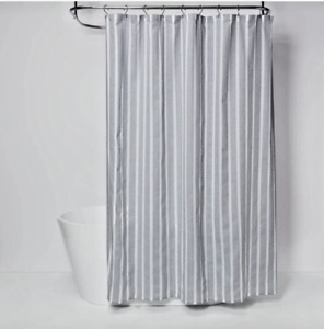 Dyed Shower Curtain Blue - Threshold New