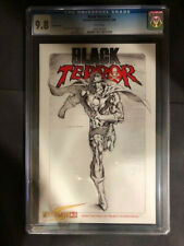 Black Terror #3 Dynamite Entertainment Sketch Variant Cover CGC 9.8
