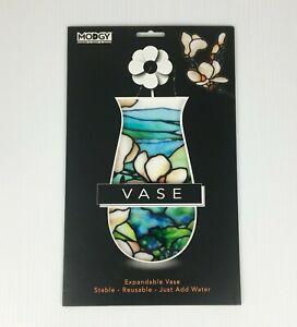 Modgy Expandable Vase - Louis C Tiffany Magnolia Landscape