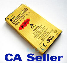 Gold High Capacity BlackBerry NX1 2680mAh Battery for BB Q10