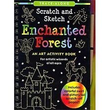Enchanted Forest Scratch and Sketch An Art Activity Book for Artistic Wizards o