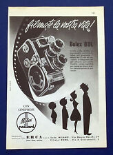 A689-Advertising Pubblicità-1960-BOLEX B8L - CINEPRESE