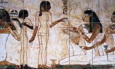 Egyptian Art Ancient Banquet Scene Ceramic Mural Backsplash Bath Tile #93
