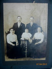 VINTAGE VICTORIAN MATTED PHOTO - VERY OLD - LATE 1800'S - TAKE A LOOK