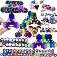 EDC Hand Focus 3D FIDGET SPINNER Ceramic Bearing Gift ADHD Stress Relieves Toys