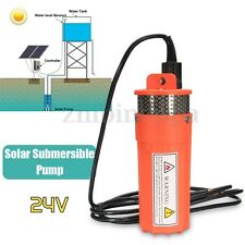 24V Submersible Deep Solar Battery Well Fountain Water Pump Alternative Energy