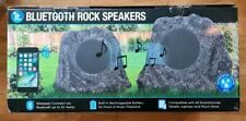Innovative Technology Premium 5-watt Bluetooth Outdoor Rock Speakers With A/c