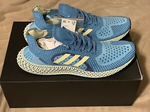 adidas ZX Runner 4D Shoe Size 11 FY0152~Aqua/Yellow|Purple SOLD OUT In hand!