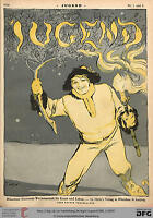 JUGEND - Art Nouveau (Jugendstil) Magazine - 2218 issues (1896 - 1940) on 4 DVDs