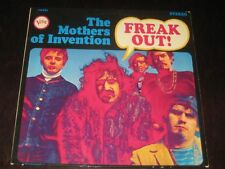 The Mothers Of Invention rare '66 1st press LP Freak Out! on Verve mint-  psych