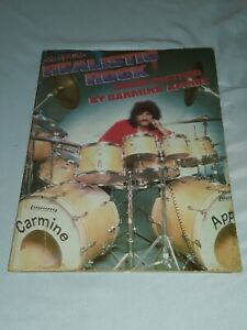 Updated Realistic Rock Drum Method By Carmine Appice With Poster 1979