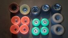 Rare Vintage skateboard wheel lot - Street bombs, Sims Snakes, Powell Peralta ++