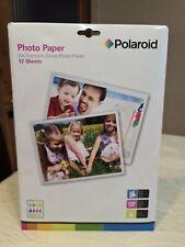 Polaroid A4 Premium Gloss Photo Paper 12 sheets 220 gsm.New