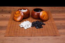 Collectible Wei Qi Go Game Set Melamine Single Convex Stones and Wild Jujube ...
