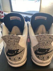 Nike Air Jordan 4 White Cement Size 13 IV Grey OG 2016 840606-192