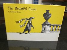 The Doubtful Guest by Edward Gorey (1978, Hardcover) Signed