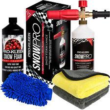 ProKleen Snow Foam Lance Cannon Wax Washing Car Shampoo Kit Karcher K Compatible