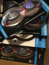 Pack of 2 Speedo Speed Socket 2.0 Mirrored Performance Swim Goggle - One Size