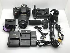 Nikon D5100 16.2MP Digital SLR Camera W/ DX AF-S Nikkor 18-55mm 1:3.5-5.6G Lens