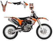 Neuf KTM BB Dream 3 SX SXF 125-530 11-12 EXC 12-13 Graphics Kit & Housse Siège