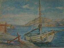 Arcipelago con peschereccio-CCAC-Svezia-Kattegat Skagerrak 1942