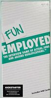 NIB Fun Employed Interview Card Game of Actual Jobs & Absurd Qualifications