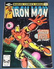 Iron Man #142 Jan 1981 New outer Space Armor