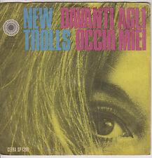 DISCO VINILE 45'' - NEW TROLLS - DAVANTI AGLI OCCHI MIEI - QUELLA MUSICA