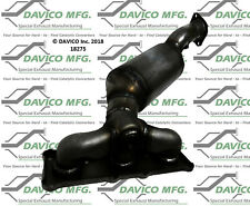 Catalytic Converter-Exact-Fit Cat Converter - Manifold Rear Davico Exc CA 18275