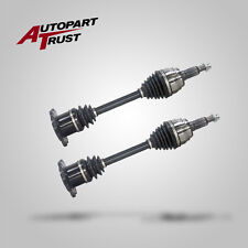 Pair of 2 New OE Front Left Right CV Joint Axle for Cadillac GMC Chevrolet 4WD