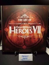 The art of might & magic heroes VII 7 art book from Limited Collector's Edition