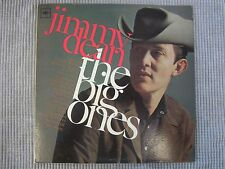 JIMMY DEAN ~ THE BIG ONES  VINYL RECORD LP / Country